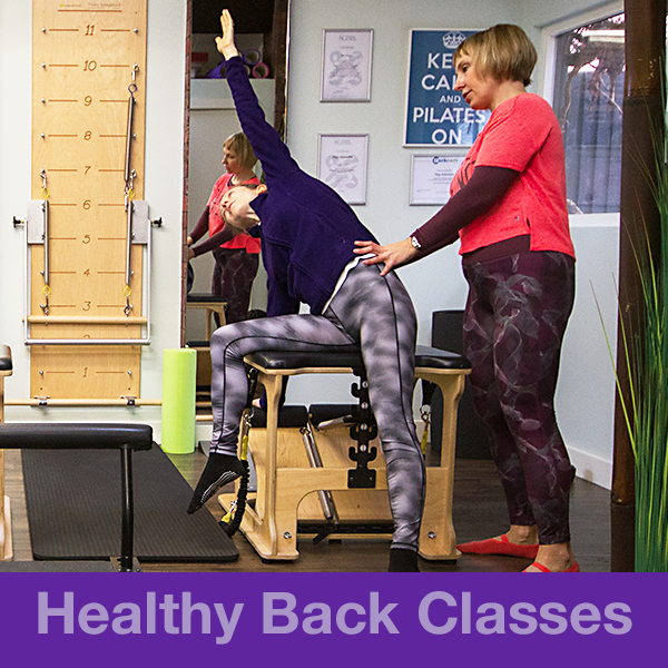 Intelligent Pilates Back4Good Classes